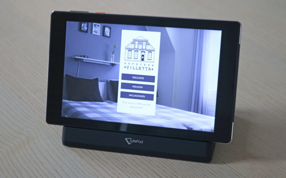 A tablet in the room!